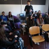 """Posjet učenika šibenske Ekonomske škole volonterskom centru """"Pozitiva"""""""