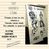 Najava strip radionice u Šibenskoj udruzi mladih u veljači