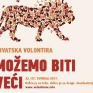 Hrvatska volontira 2017. – prijavljeno preko 280 volonterskih aktivnosti!
