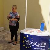 """Udruga mladih """"Mladi u EU"""" promovirala je volonterstvo u Drnišu"""
