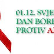 Svjetski dan obilježavanja borbe protiv AIDS-a – 1. prosinca 2017.