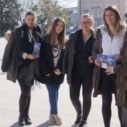 EVS volonteri poticali na mobilnost drniške srednjoškolce