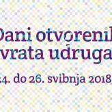 Udruge diljem Šibensko-kninske županije obilježavaju Dane otvorenih vrata udruga 2018